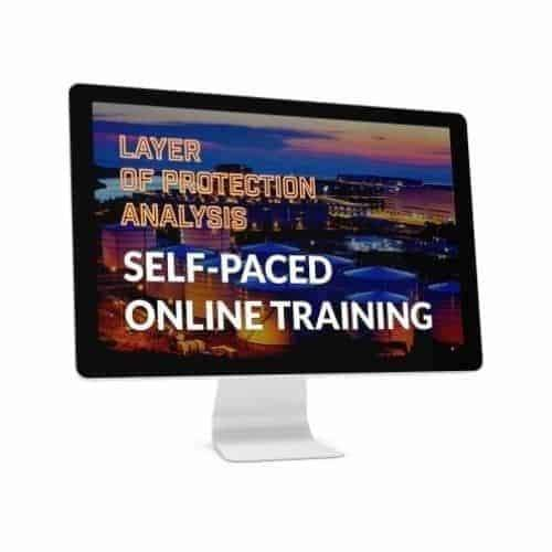 Layer of protection analysis online course by eFunctionalSafety
